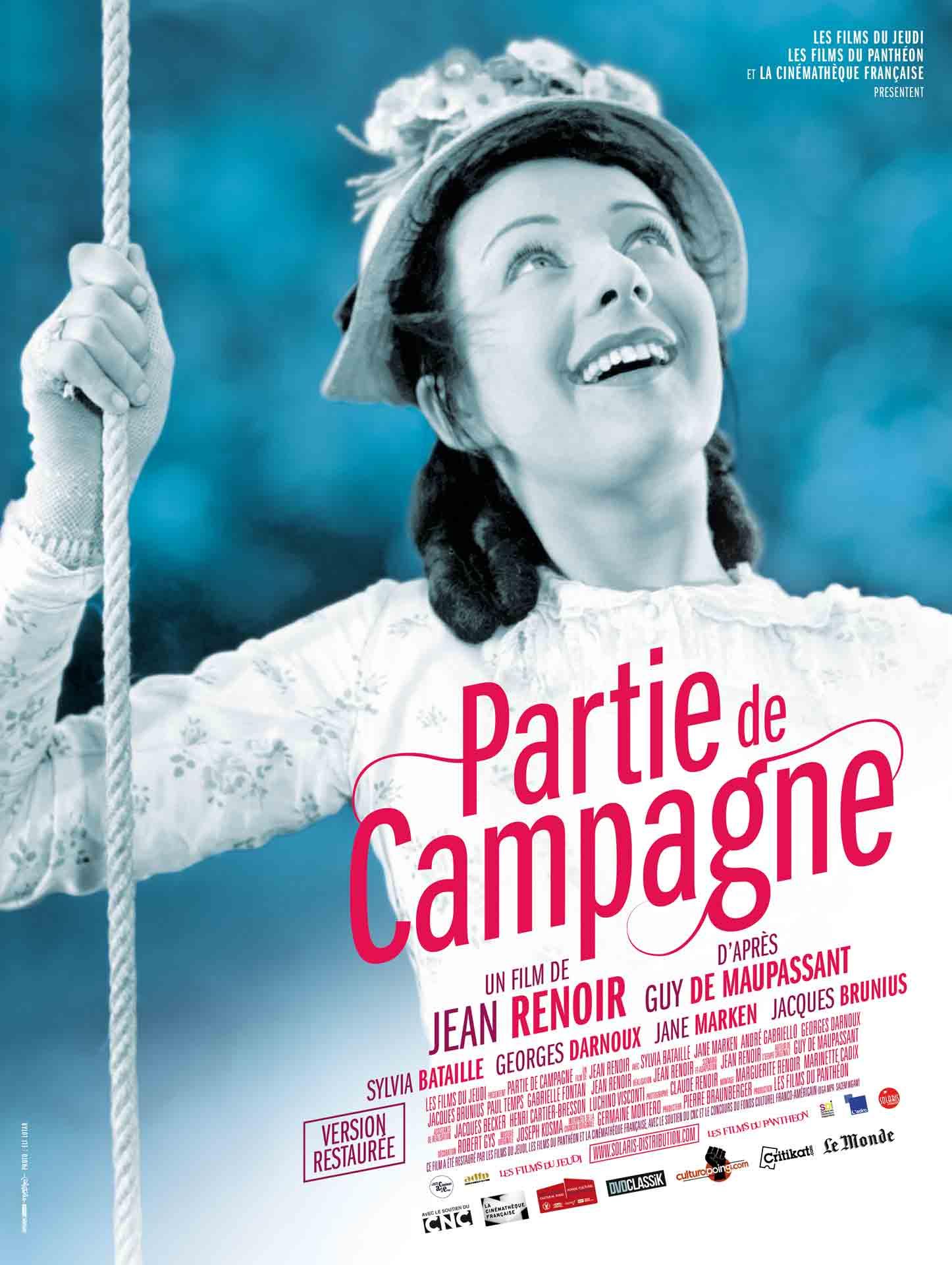 PARTIE DE CAMPAGNE - Affiche