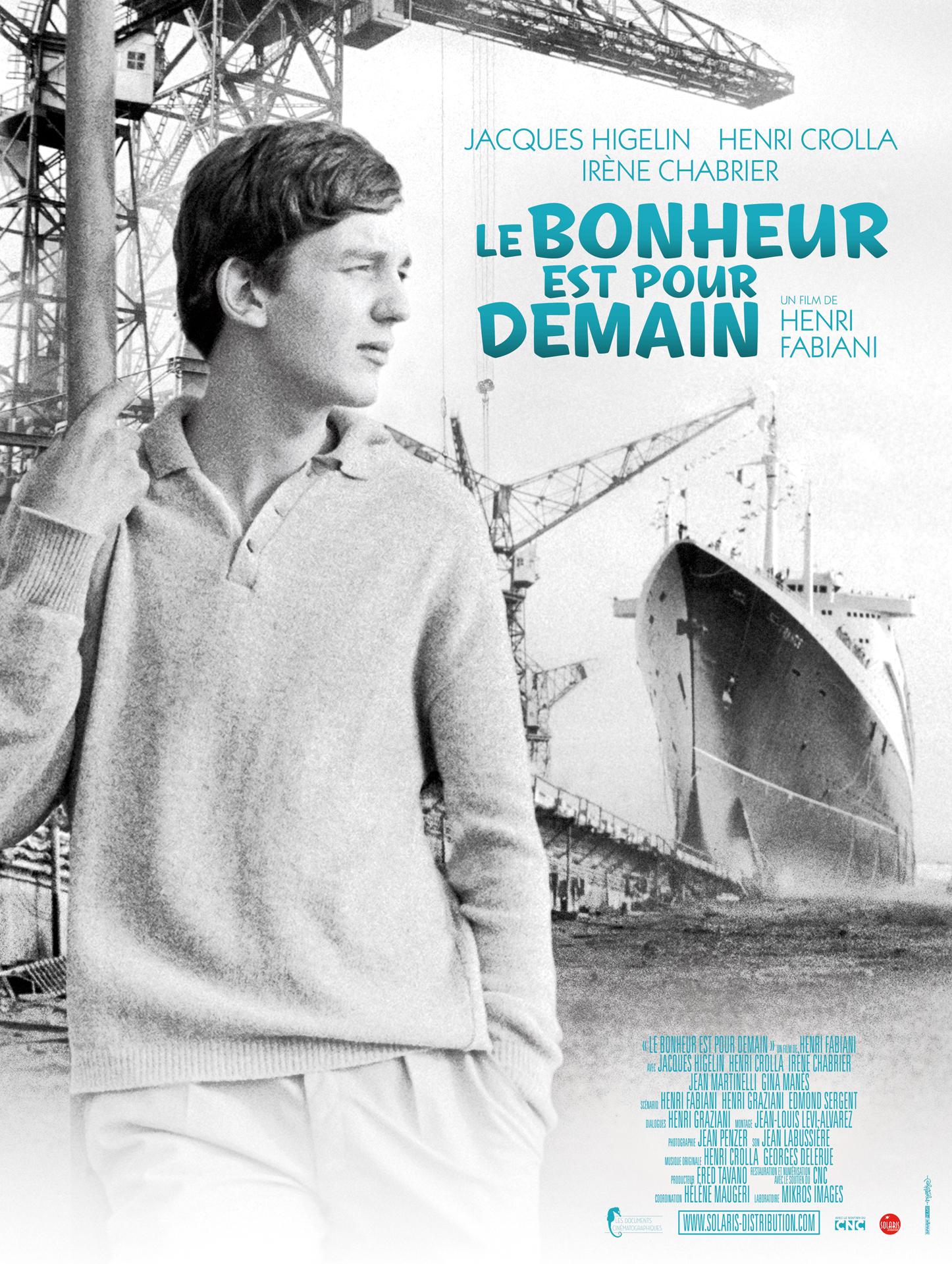 LE BONHEUR EST POUR DEMAIN - Affiche