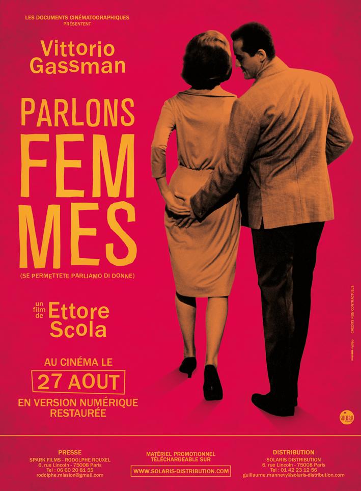 PARLONS FEMMES - Affiche