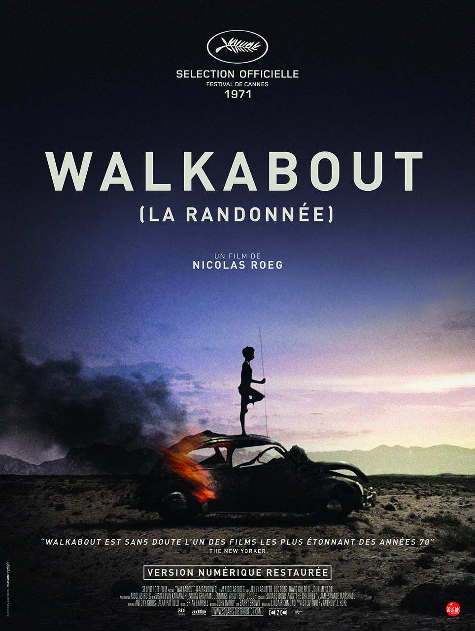 WALKABOUT (La Randonnée) - Affiche
