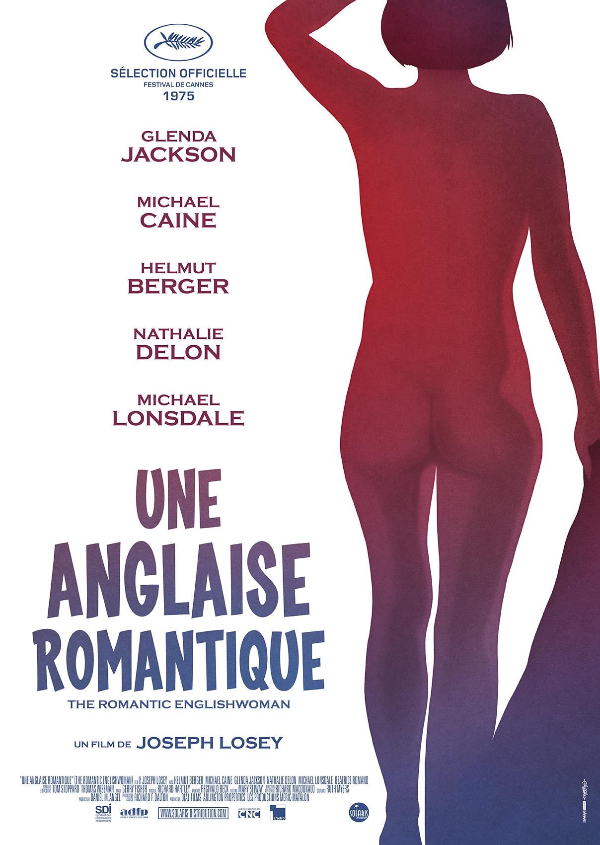 UNE ANGLAISE ROMANTIQUE - Affiche