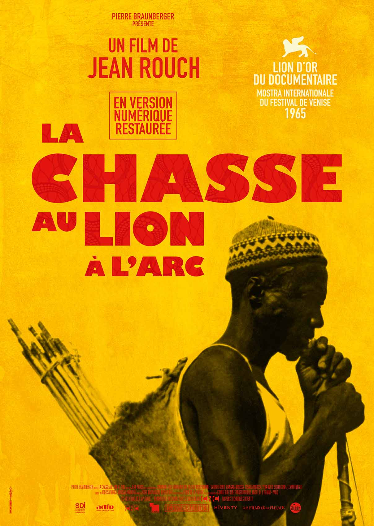 LA CHASSE AU LION A L'ARC - Affiche