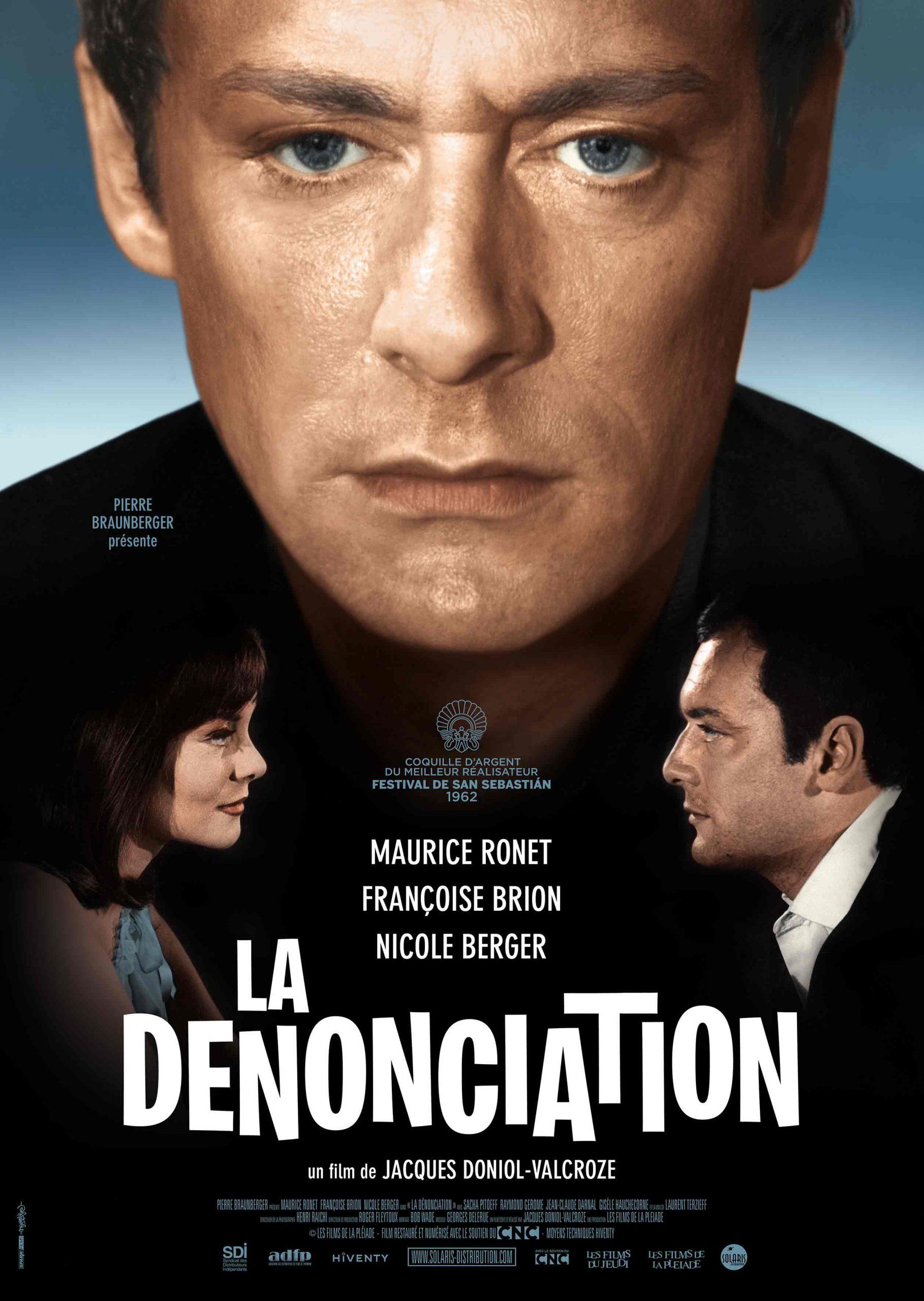 LA DÉNONCIATION - Affiche