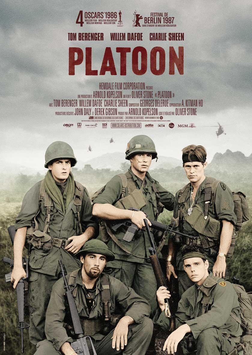 PLATOON - Affiche