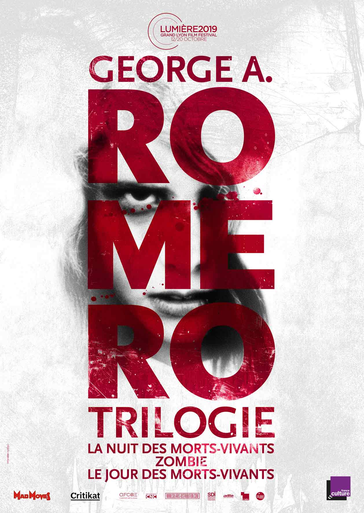 TRILOGIE ROMERO - Affiche