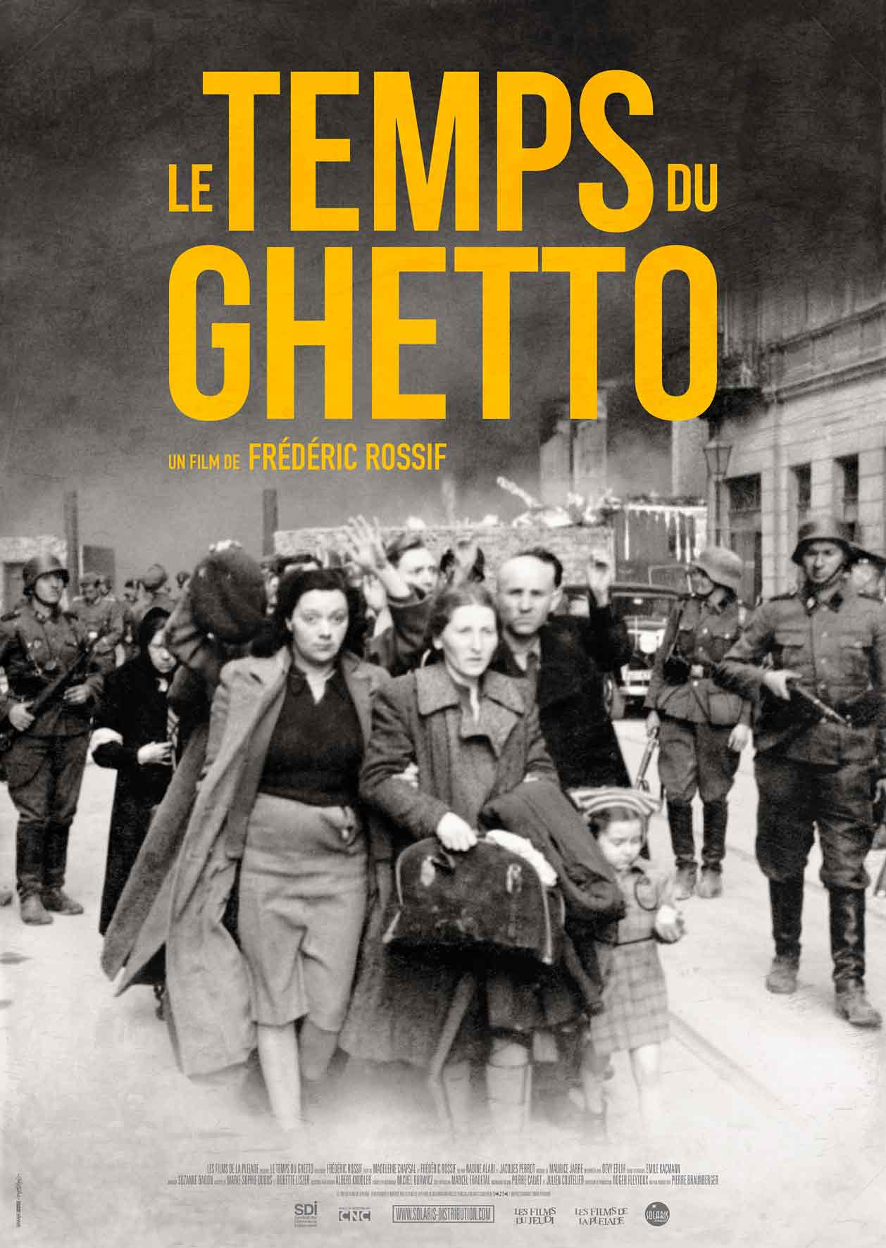 LE TEMPS DU GHETTO - Affiche