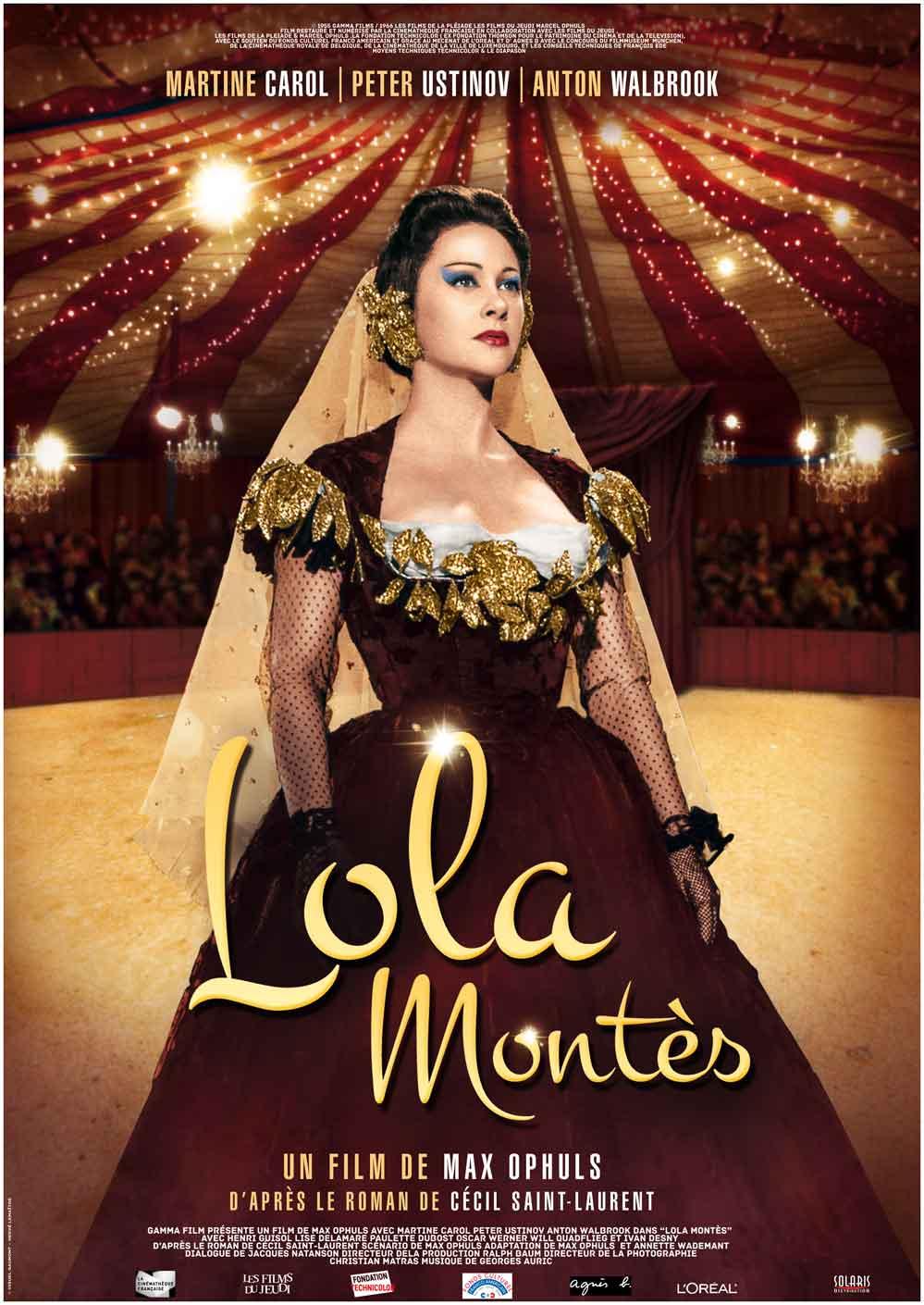 LOLA MONTES - Affiche