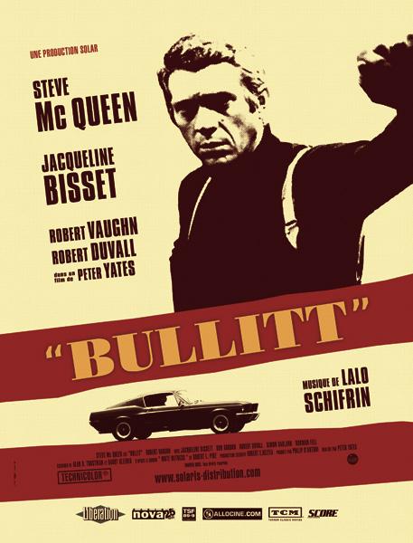 Bullit - Affiche