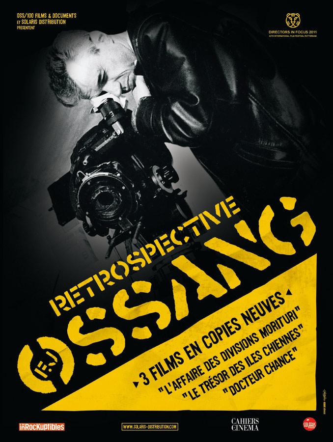 Rétrospective F.J. OSSANG - Affiche