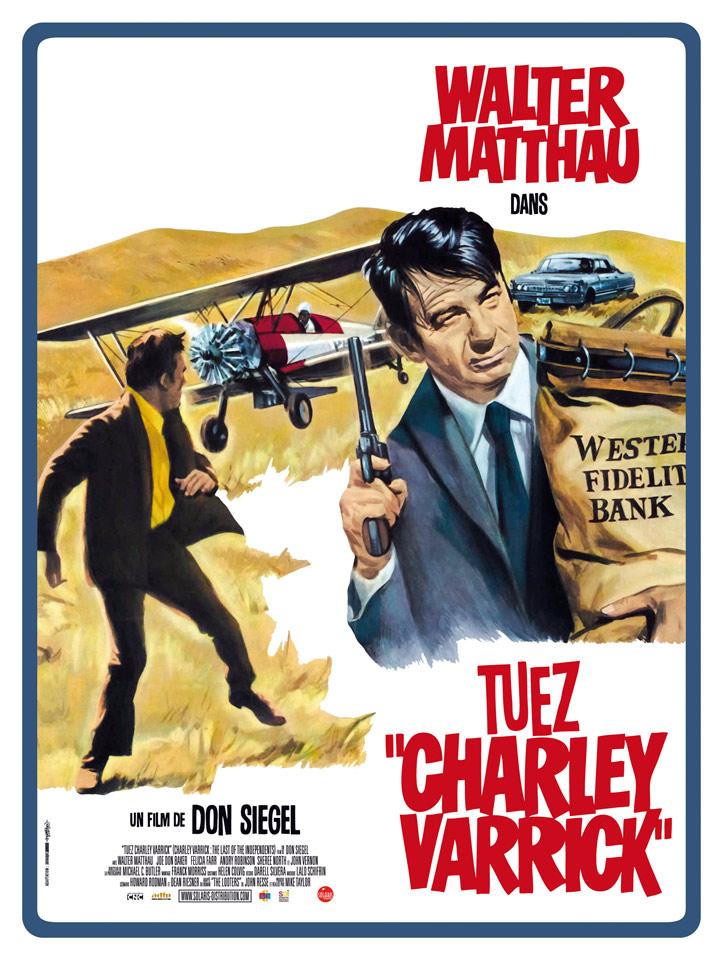 Tuez Charley Varrick - Affiche