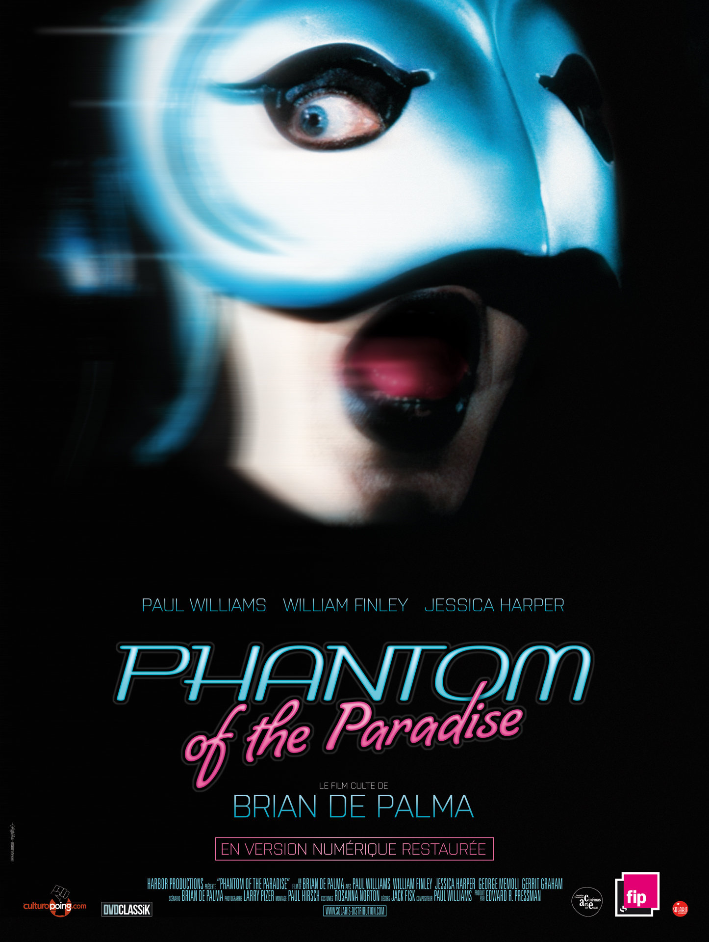 PHANTOM OF THE PARADISE - Affiche