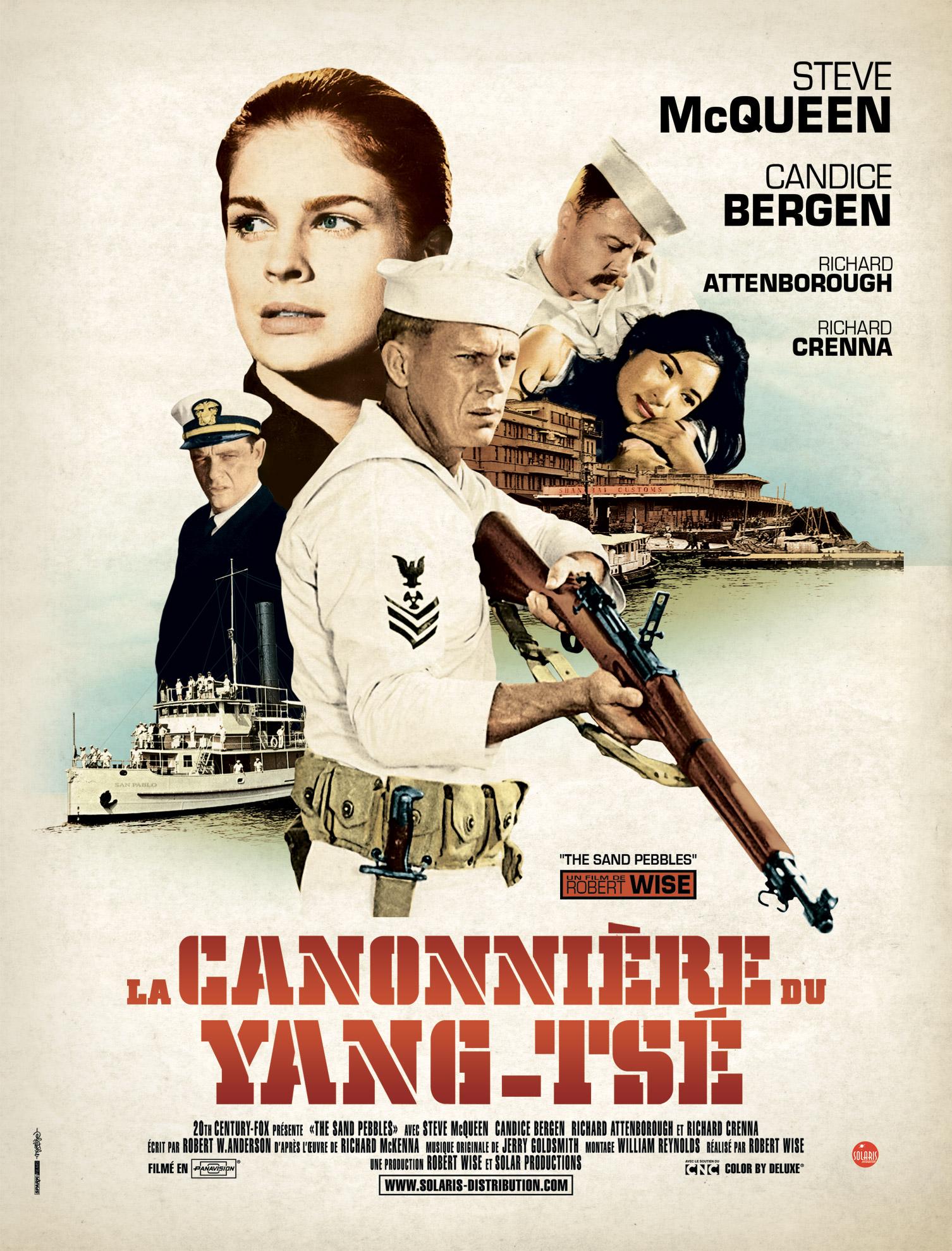 La canonnière du Yang-Tsé - Affiche