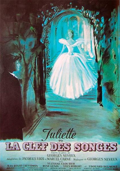 JULIETTE OU LA CLEF DES SONGES - Affiche